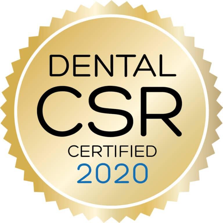 Dental CSR Certified 2020