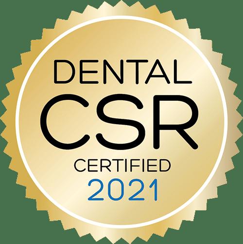 Dental CSR Certified 2021
