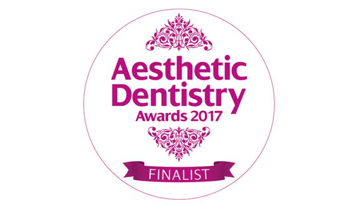 Aesthetic Dentistry Awards 2017 - Finalist