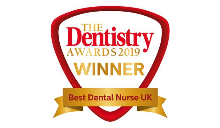 The Dentistry Awards 2019 Winner - Best Dental Nurse UK