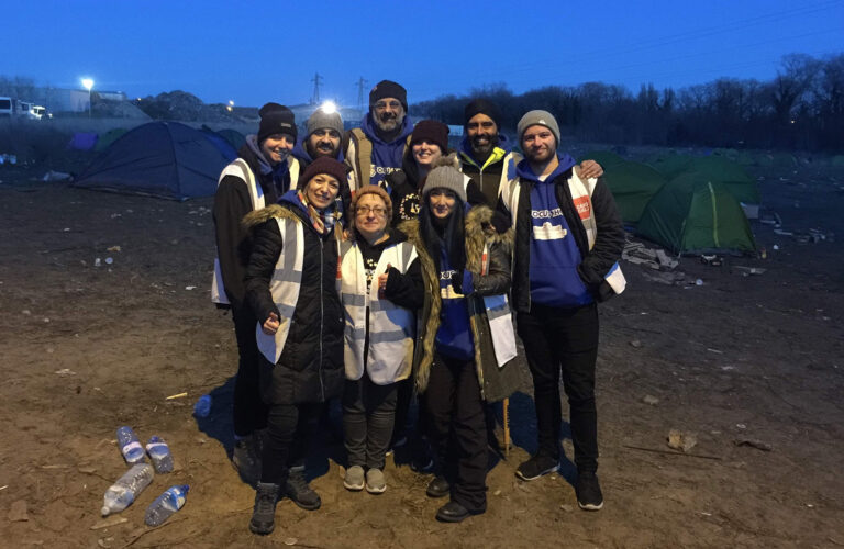 Town Hall Foundation working in Calais