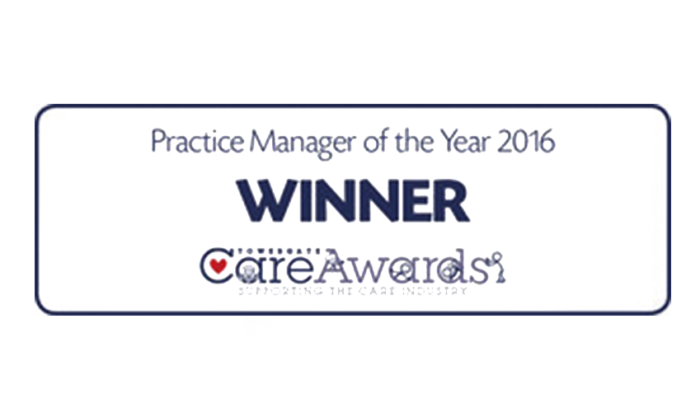 Care Awards - Practice Manager of the Year 2016