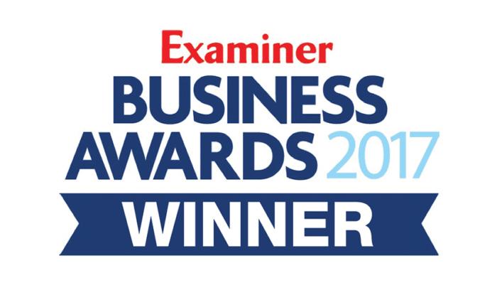 Examiner Business Awards 2017 Winner
