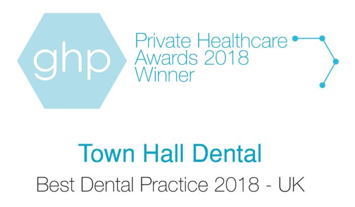 GHP Private Heathcare Awards 2018 Winner - Best Dental Practice 2018 - UK