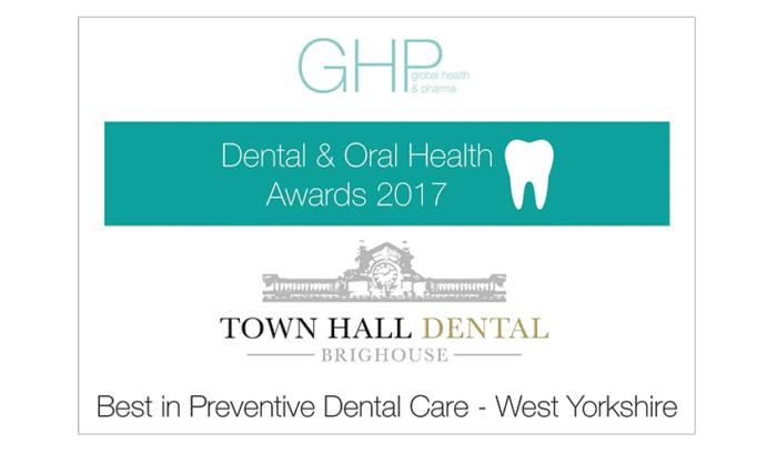 GHP Dental Oral Health Awards 2017 - Best in Preventive Dental Care - West Yorkshire
