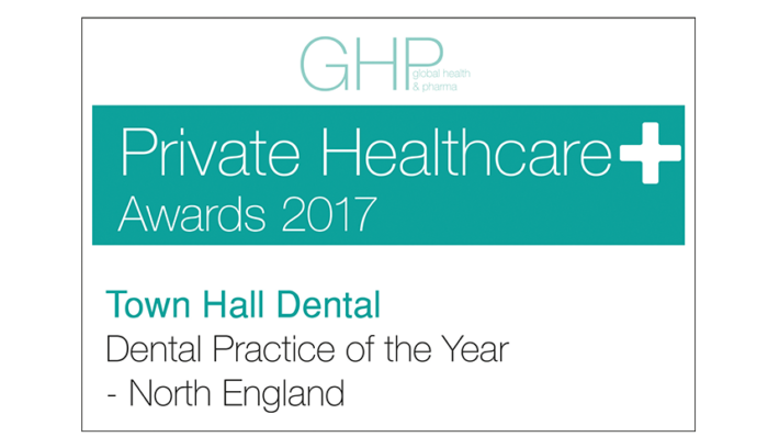 GHP Dental Oral Health Awards 2017 - Dental Practice of the Year - North England