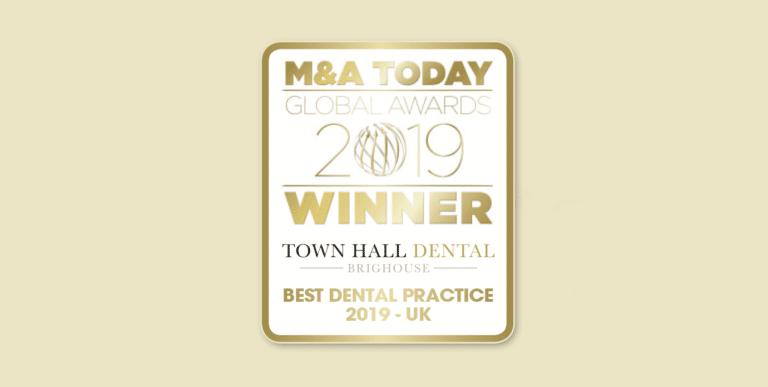 M&A Today Global Awards 2019 - Best Dental Practice 2019 UK, Town Hall Dental.