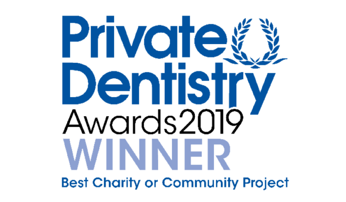 Private Dentistry Awards 2019 Winner - Best Charity of Community Project