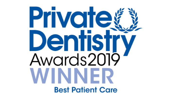 Private Dentistry Awards 2019 Winner - Best Patient Care