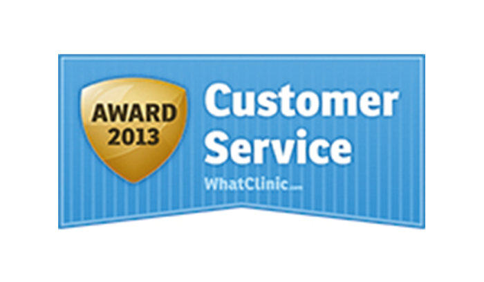 WhatClinic Customer Service Awards 2013
